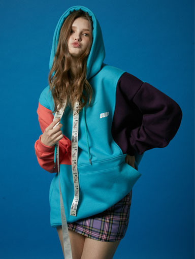 BUBP SPECIAL OVER FIT HOODIE_MINT