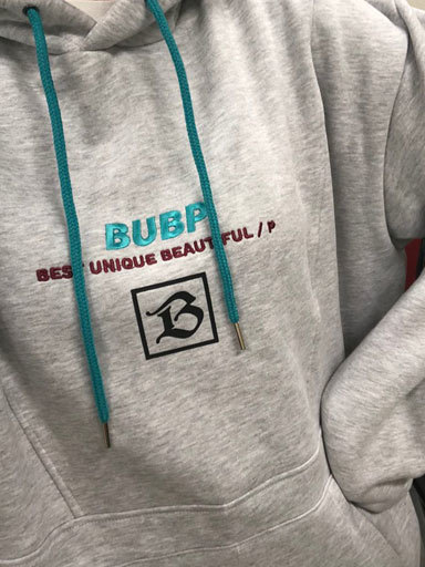 BUBP SIGNATURE OVER FIT HOODIE_GRAY[선주문 예약10%SALE]